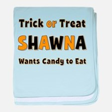 Shawna Trick or Treat baby blanket