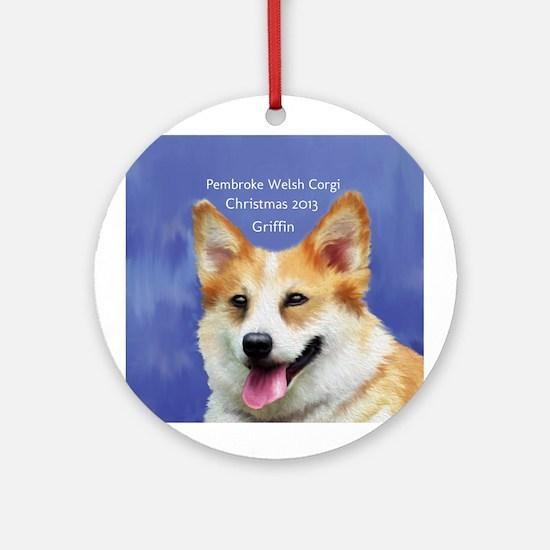 Personalized Pembroke Welsh Corgi Ornament