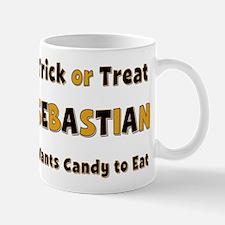 Sebastian Trick or Treat Mug