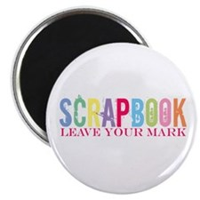 Scrapbook-Leave your mark Magnet