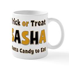 Sasha Trick or Treat Mug