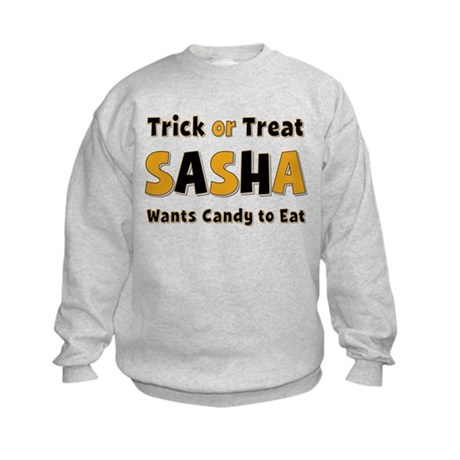 Sasha Trick or Treat Sweatshirt