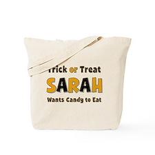 Sarah Trick or Treat Tote Bag