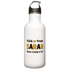 Sarah Trick or Treat Water Bottle