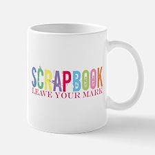 Scrapbook-Leave your mark Mug