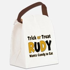 Rudy Trick or Treat Canvas Lunch Bag