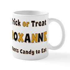 Roxanne Trick or Treat Mug
