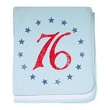 Spirit of 1776 baby blanket