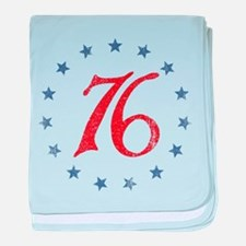 Spirit of 1776 baby blanket
