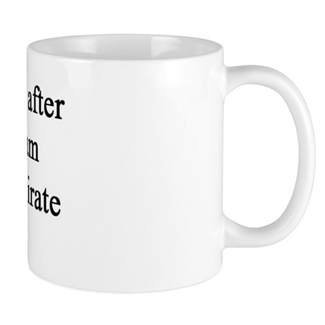 "NEW! Plain ""Pirate"" Mug"