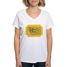 Admit One Yellow T-Shirt