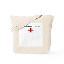 POSITIVE ABOUT POSITIVE Produ Tote Bag