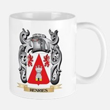 Henries Coat of Arms - Family Crest Mugs