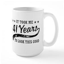 Funny 41st Birthday Mug