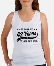 Funny 42nd Birthday Women's Tank Top