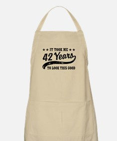 Funny 42nd Birthday Apron