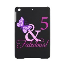 Fabulous 5th Birthday For Girls iPad Mini Case