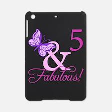Fabulous 5th Birthday For Girls iPad Mini Case