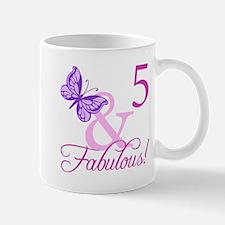 Fabulous 5th Birthday For Girls Mug