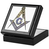 Masonic Square Keepsake Boxes