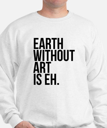 Earth Without Art is Eh. Jumper
