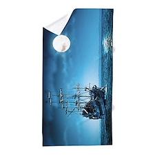 Pirate Ship Beach Towel