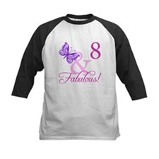 Fabulous 8th Birthday For Girls Tee