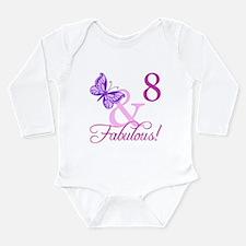 Fabulous 8th Birthday For Girls Long Sleeve Infant