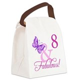 8 year old birthday girl Lunch Bags