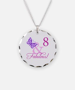 Fabulous 8th Birthday For Girls Necklace