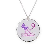 Fabulous 9th Birthday For Girls Necklace