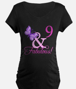 Fabulous 9th Birthday For Girls T-Shirt
