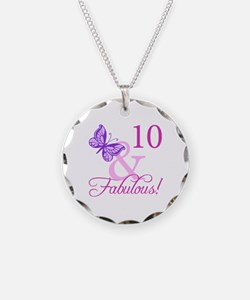 Fabulous 10th Birthday For Girls Necklace Circle C