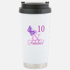 Fabulous 10th Birthday For Girls Stainless Steel T