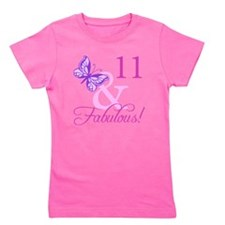 Fabulous 11th Birthday For Girls Girl's Tee