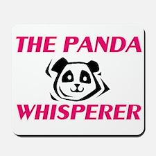 The Panda Whisperer Mousepad