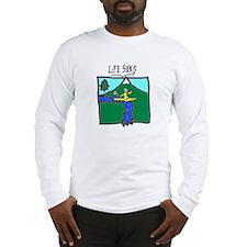 Kayaker - Long Sleeve T-Shirt