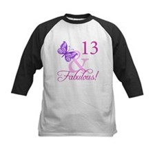 Fabulous 13th Birthday For Girls Tee