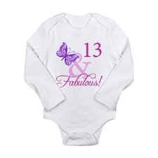Fabulous 13th Birthday For Girls Long Sleeve Infan