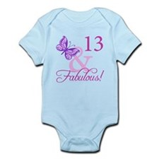 Fabulous 13th Birthday For Girls Onesie