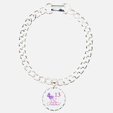 Fabulous 13th Birthday For Girls Bracelet