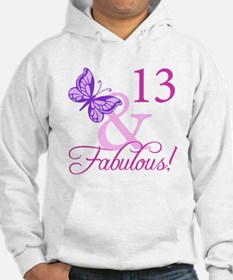 Fabulous 13th Birthday For Girls Hoodie