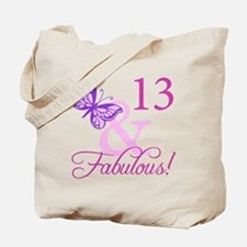 Fabulous 13th Birthday For Girls Tote Bag