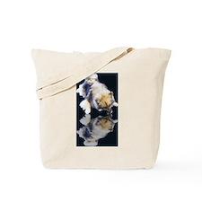 Keeshond Reflection Tote Bag