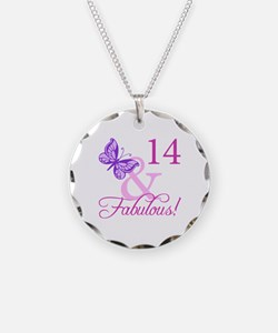 Fabulous 14th Birthday For Girls Necklace