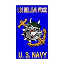 USS BELLEAU WOOD Decal
