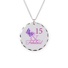 Fabulous 15th Birthday For Girls Necklace