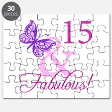Fabulous 15th Birthday For Girls Puzzle