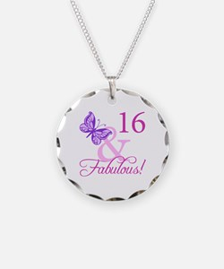Fabulous 16th Birthday For Girls Necklace