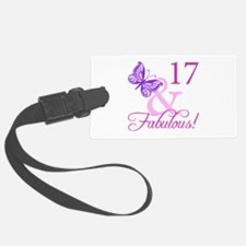 Fabulous 17th Birthday For Girls Luggage Tag